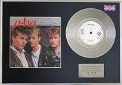A-Ha - Take On Me - 18cm Platinum Single With Cover