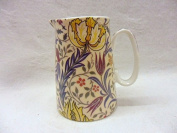 William morris flora design cream jug made for the Abbeydale collection for Heron Cross Pottery.