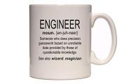 Engineer - Definition - Funny Profession Design - Great Gift Idea - Tea / Coffee Mug / Cup