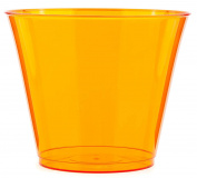 MOZAIK 10 Orange Plastic Dessert Cups 230ml