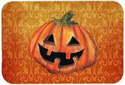 "Caroline's Treasures SB3020CMT ""October Pumpkin Halloween"" Kitchen or Bath Mat, 20"" by 30"", Multicolor"