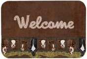 "Caroline's Treasures SB3058CMT ""Welcome"" Mat, 20"" by 30"", Multicolor"