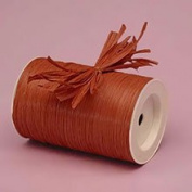 Krafty Klassics 1 Roll of Coloured Matte Raffia Ribbon (0.6cm x 100 Yds)
