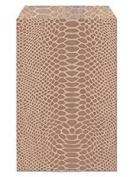 100 Pc 22cm X 28cm Snakeskin Design Paper Bags