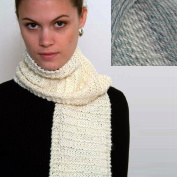 """Beginner's Scarf"" Knit Kit with Encore Worsted COLORSPUN Yarn - OCEAN DRIFT"