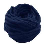 1 Skein Thick Bulky Chunky Soft Cotton Superfine Fibre Yarn Hand Knitting Crochet Weaving Rug Making Cotton Yarn Colour 8