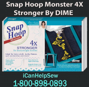 Dime Snap Hoop Monster 20cm x 20cm LM2 for Babylock and Brother