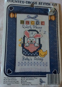 Quiet Please Baby's Asleep Counted Cross Stitch Kit 30576