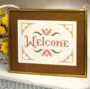 Welcome Sampler for Embroidery or Ballpoint Painting