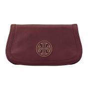 Tory Burch Amanda Logo Leather Clutch Crossbody Bag TB Logo