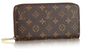 Designer Inspired LV Monogram Zippy Wallet