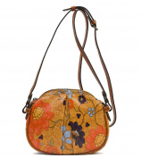Patricia Nash Chania Exotic Island Gold Crossbody