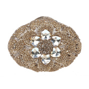 Fawziya Big Diamond Flower Purses And Clutches And Evening Bags