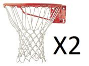 Champion 6mm Professional Non-Whip White Nylon Basketball Net 416