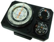 SPALDING (Spalding), pressure display with altimeter, black NO1230
