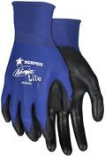 Memphis N9696 Blue Ninja Lite Gloves, 18 Gauge, Size XLarge,