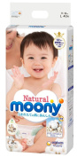 Natural Mooney(Organic cotton) L size 40 pieces (tape type)-disposable-