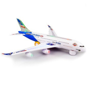 Air Bus A380 Electic Model Toy With Flashing Lights & Music by zizzi