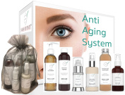 Anti Ageing Beauty Set - Anti-Ageing Skincare System - 40% Off  .   - Look Your Best With This Six Step Facial-From-Home Age-Defying Skincare Set
