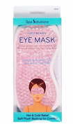 Spa Solution Gel Beads Eye Mask (Pink) #69203