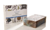 Earth Luxe Handmade Bath Soap- Blue