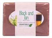 Rain Forest Natural Beer Soap, Black and Tan