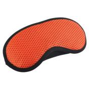 Breathable Adjustable Eye Mask Eye-shade Relaxing Sleeping Eye Cover-Orange