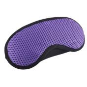 Breathable Adjustable Eye Mask Eye-shade Relaxing Sleeping Eye Cover-Purple