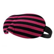 Adjustable Eye Mask Sleep Mask Eye-shade Relaxing Sleeping Eye Cover-Red Stripe
