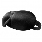 Adjustable Eye Mask Sleep Mask Eye-shade Relaxing Sleeping Eye Cover-Black