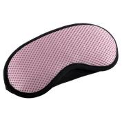 Breathable Adjustable Eye Mask Eye-shade Relaxing Sleeping Eye Cover-Pink