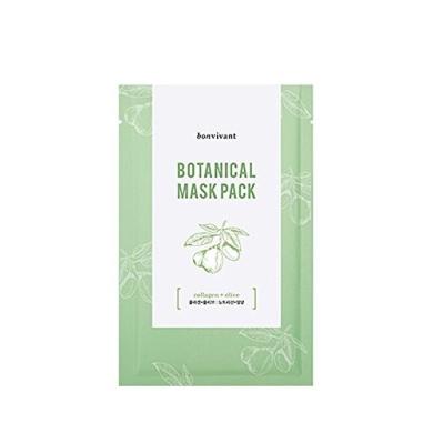 Botanical Mask Pack- Collagen + Olive (10pcs)