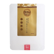 NOHJ 24K Gold Therapy Sheet Mask Super Collagen 10 Sheets Natural Ingredients Ample Essence Hypoallergenic Special Gold Sheet