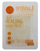 NOHJ 1-Mask-A-Day Sheet Mask 10 Sheets Natural Ingredients Ample Essence Hypoallergenic Lemon