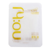 NOHJ Texture Sheet Mask 10 Sheets Natural Ingredients Ample Essence Hypoallergenic Lustre