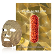 NOHJ Intracell 24K Gold Sheet Mask 10 Sheets Natural Ingredients Ample Essence Special Gold Sheet Gold Lifting