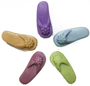Assorted Flip Flop Decorative Hand Soap - Set of Five