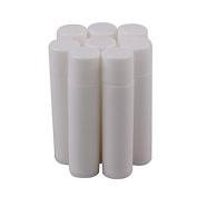 Goege 5ml/5g White Plastic Empty Lip Balm Containers Lipstick Tubes 50Pcs