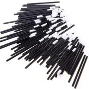 Mosunx(TM) 100PCS Disposable MakeUp Lip/Lipstick Gloss Wands Applicator Make Up Tool