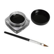 Mosunx(TM) Mini Eyeliner Gel Cream With Brush Makeup Cosmetic Black Waterproof Eye Liner
