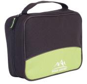 Green Venture Hanging Toiletry Bag Makeup Travel Organiser Full Size Shampoo, Black