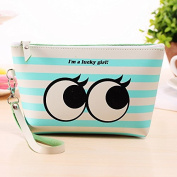 SHINA Cute Graphic Pouch Travel Case Cosmetic Makeup Bag