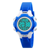 VoberrySKMEI Digital Sports Watches Boy Girls LED Alarm Stopwatch Wrist Watch