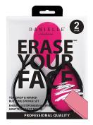 Danielle Erase Your Face Blotting Sponge in Teardrop Compact Mirror