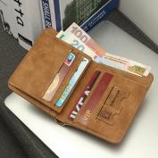 Mens Leather Wallets,Charminer Men's Money Bilfold Wallet Card Holder Purse Clutch Purse