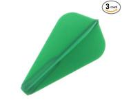 Cosmo Darts Fit Flight 3 Pack Super Kite Dart Flight