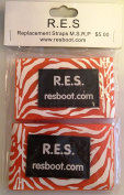 R.E.S. Replaceable Hook and loop Straps-Pack of 2