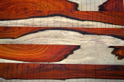 0.5sqm of 0.6cm thick cocobolo, great guitar, boat, aeroplane, office