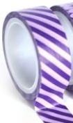 Purple Stripe Craft Washi Tape