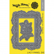 Waffle Flower Die-Lacy Panel
